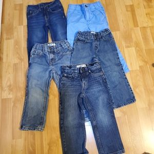 Bundle 3T boys jeans